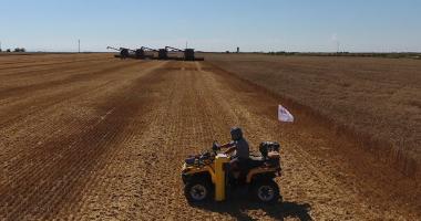 Soil sampling after harvest